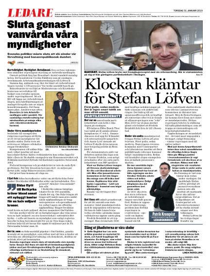 Expressen January 31, 2019 00:00