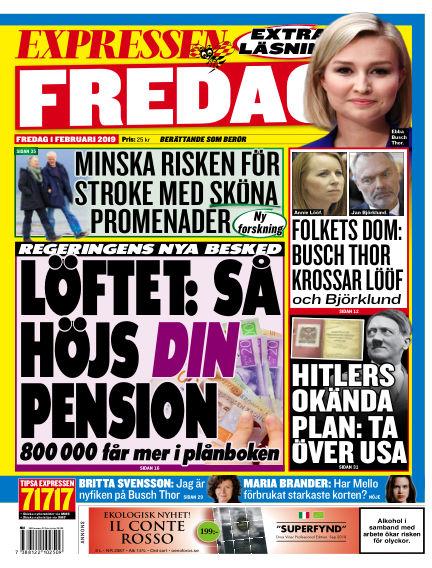 Expressen February 01, 2019 00:00
