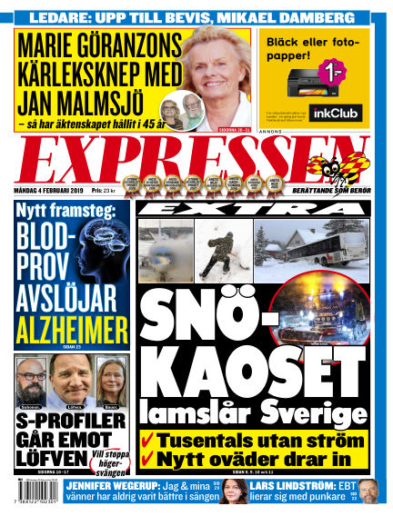 Expressen February 04, 2019 00:00