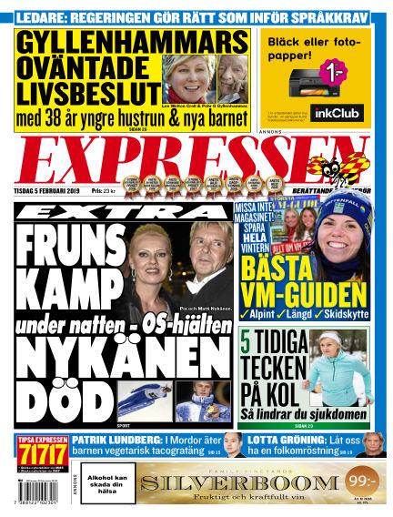 Expressen February 05, 2019 00:00