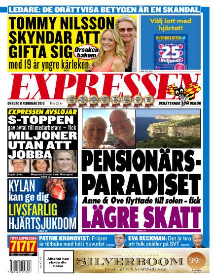 Expressen February 06, 2019 00:00