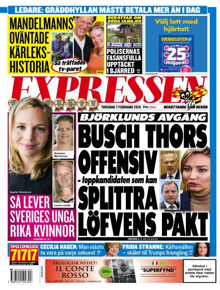 Expressen February 07, 2019 00:00