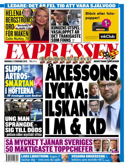 Expressen February 11, 2019 00:00