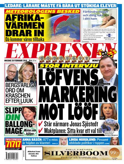 Expressen February 20, 2019 00:00