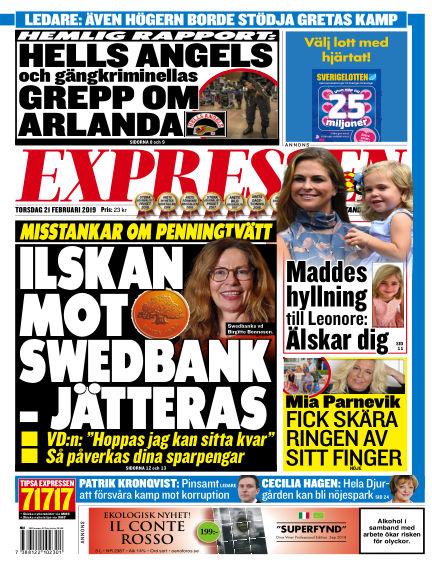 Expressen February 21, 2019 00:00