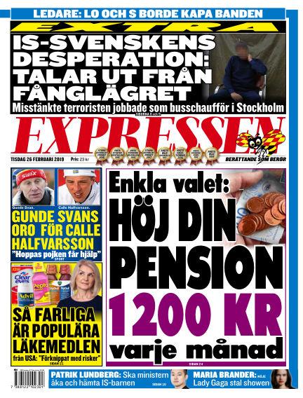 Expressen February 26, 2019 00:00