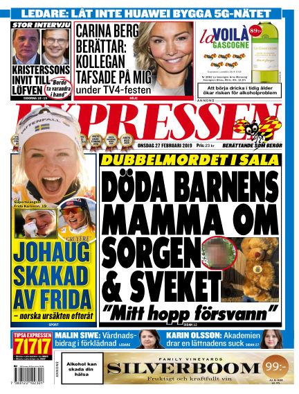 Expressen February 27, 2019 00:00