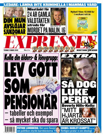 Expressen March 05, 2019 00:00