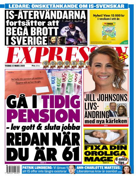 Expressen March 12, 2019 00:00