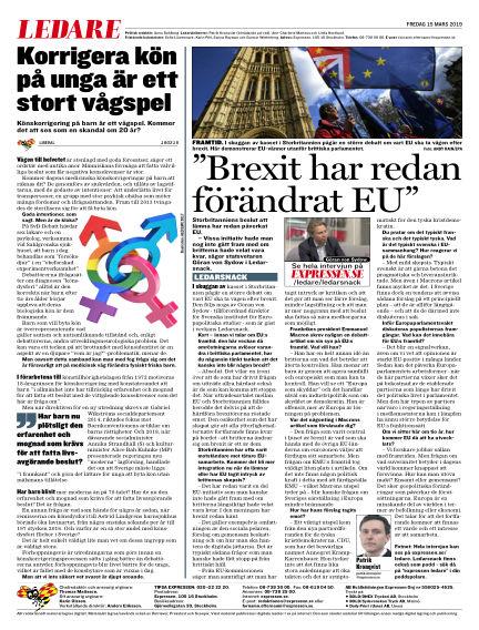 Expressen March 15, 2019 00:00