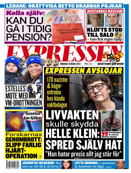 Expressen March 18, 2019 00:00
