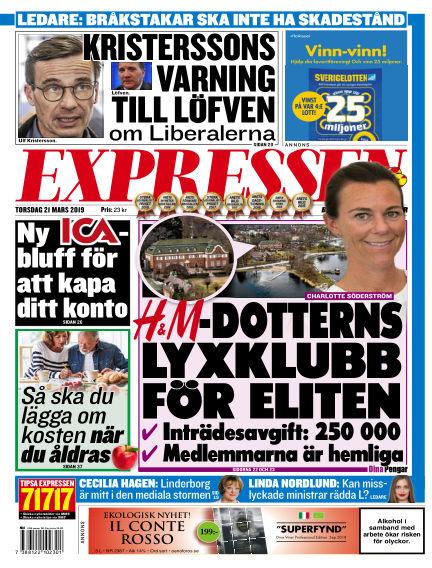 Expressen March 21, 2019 00:00
