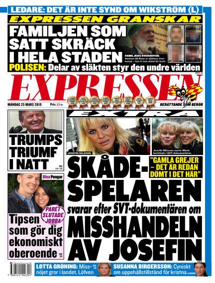 Expressen March 25, 2019 00:00