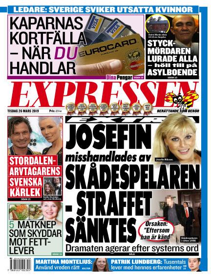 Expressen March 26, 2019 00:00