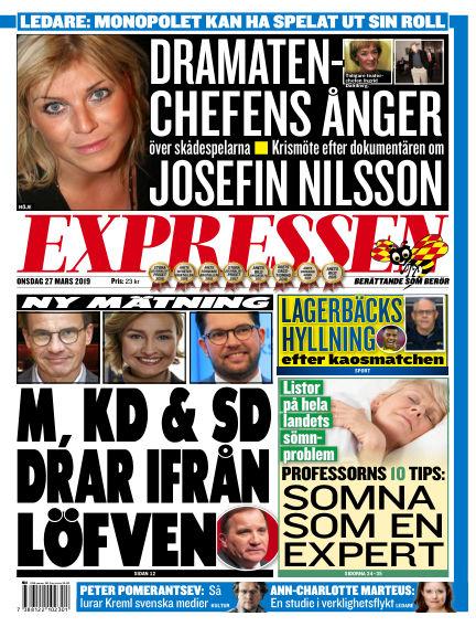 Expressen March 27, 2019 00:00