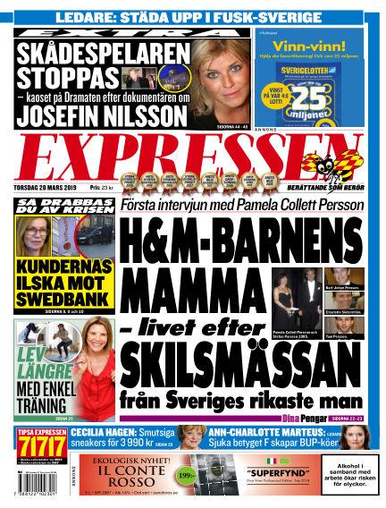 Expressen March 28, 2019 00:00