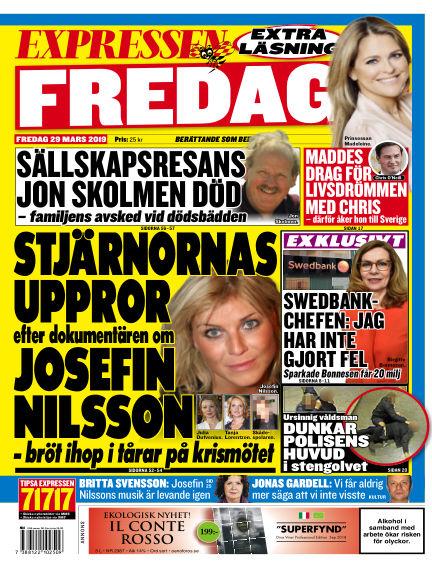 Expressen March 29, 2019 00:00