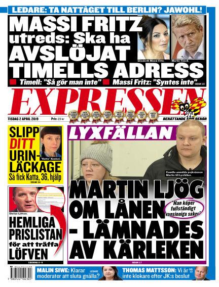 Expressen April 02, 2019 00:00