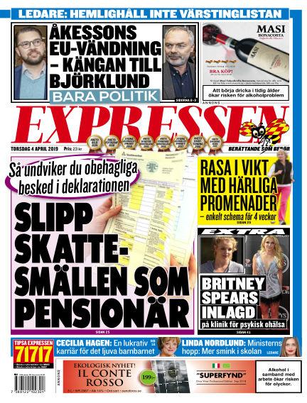 Expressen April 04, 2019 00:00