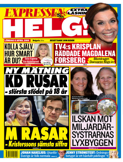 Expressen April 06, 2019 00:00