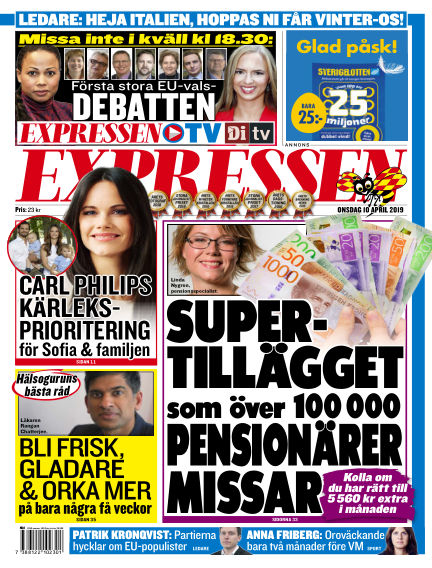 Expressen April 10, 2019 00:00