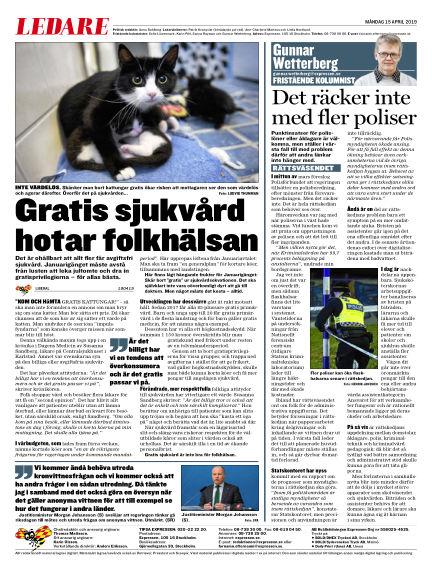 Expressen April 15, 2019 00:00