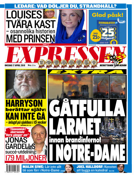 Expressen April 17, 2019 00:00