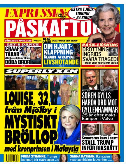 Expressen April 20, 2019 00:00
