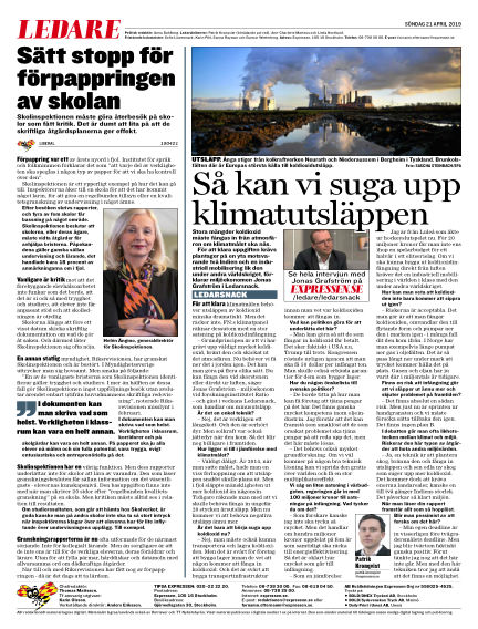 Expressen April 21, 2019 00:00