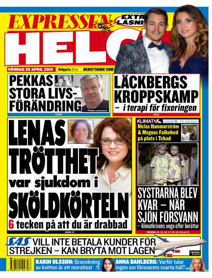 Expressen April 28, 2019 00:00