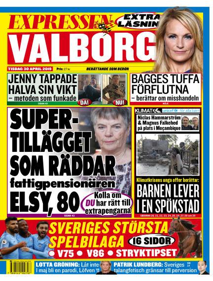 Expressen April 30, 2019 00:00