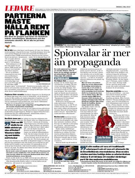 Expressen May 01, 2019 00:00