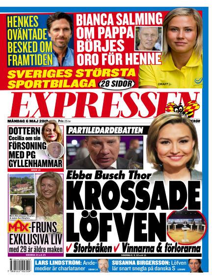 Expressen May 06, 2019 00:00