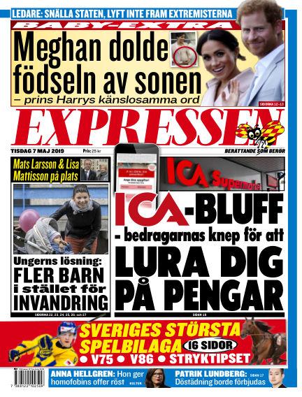 Expressen May 07, 2019 00:00