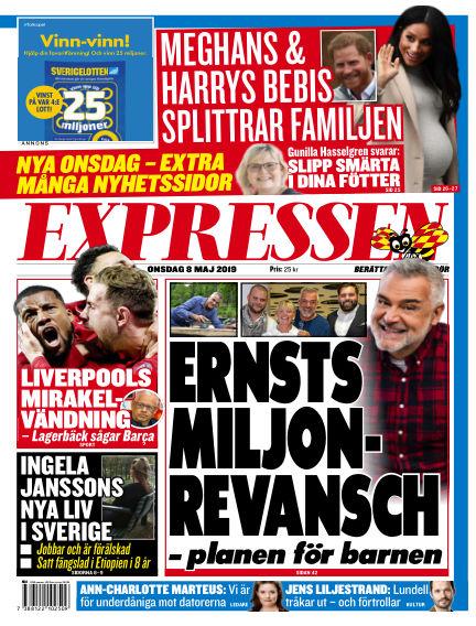 Expressen May 08, 2019 00:00