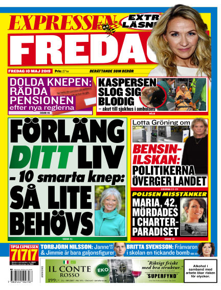 Expressen May 10, 2019 00:00