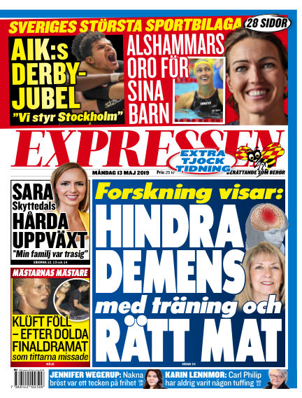Expressen May 13, 2019 00:00