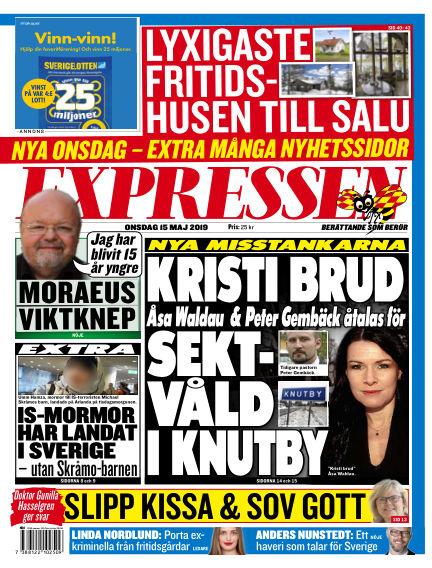 Expressen May 15, 2019 00:00