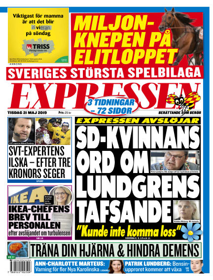 Expressen May 21, 2019 00:00
