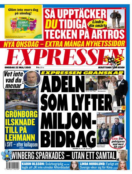 Expressen May 22, 2019 00:00