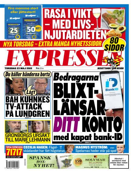Expressen May 23, 2019 00:00