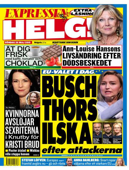 Expressen May 26, 2019 00:00