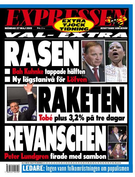 Expressen May 27, 2019 00:00