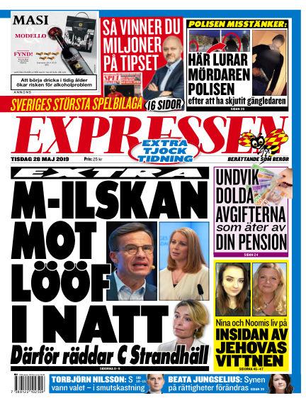 Expressen May 28, 2019 00:00