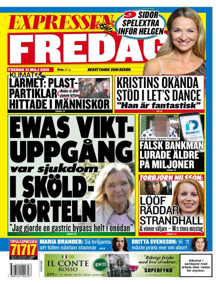 Expressen May 31, 2019 00:00