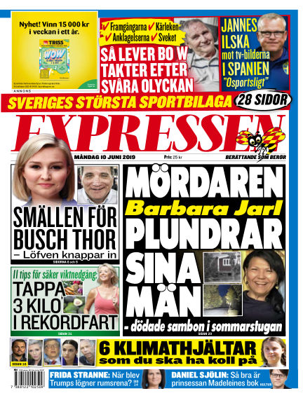 Expressen June 10, 2019 00:00
