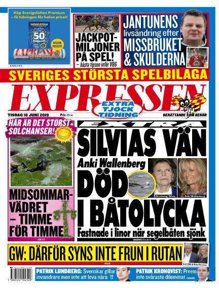 Expressen June 18, 2019 00:00