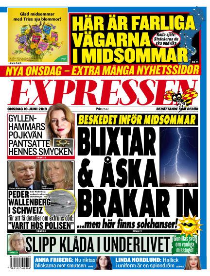 Expressen June 19, 2019 00:00