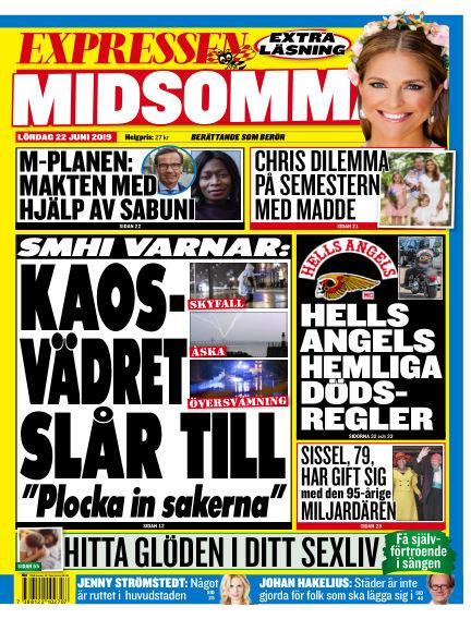 Expressen June 22, 2019 00:00