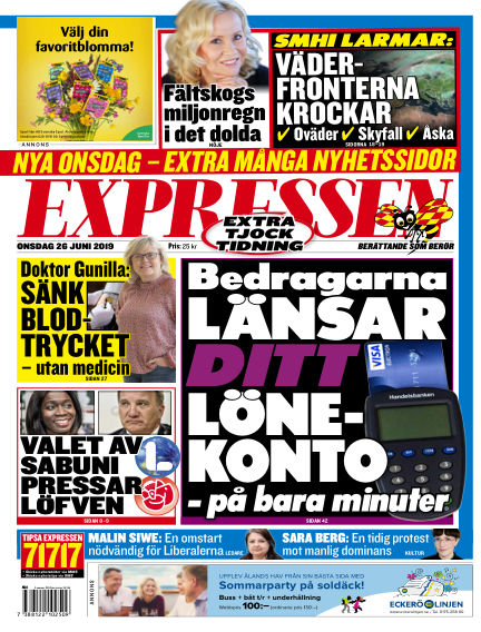 Expressen June 26, 2019 00:00